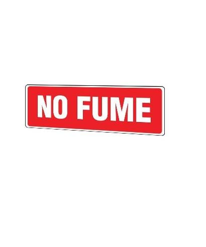"""Señal de seguridad """"NO FUME"""""""
