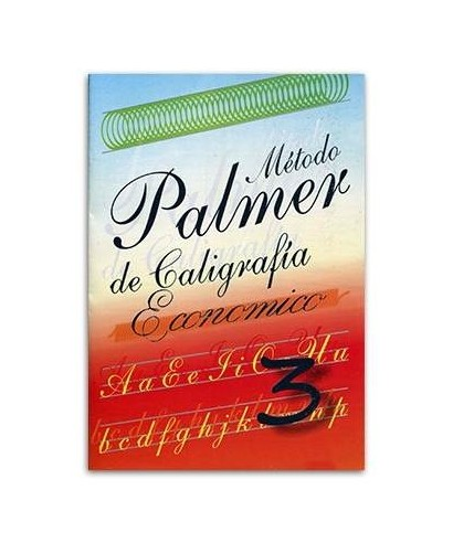 Metodo de caligrafi PALMER ejercicio numero 3