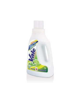 Detergente liquido para ROPA VALE 1 LT