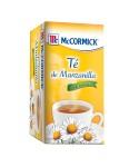 Té McCormick de Manzanilla Caja x 20 Sobrecitos