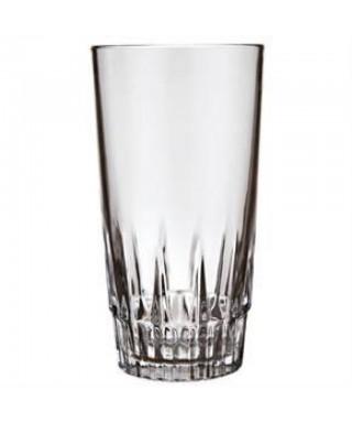 Vaso de vidrio liso TRIANA...