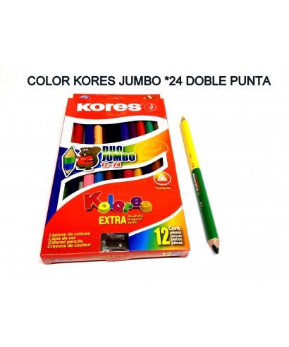 Colores de DUO 12 x 24 Bicolor KORES