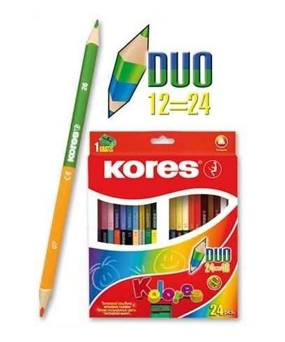 Colores Kores DUO (24 Piezas)