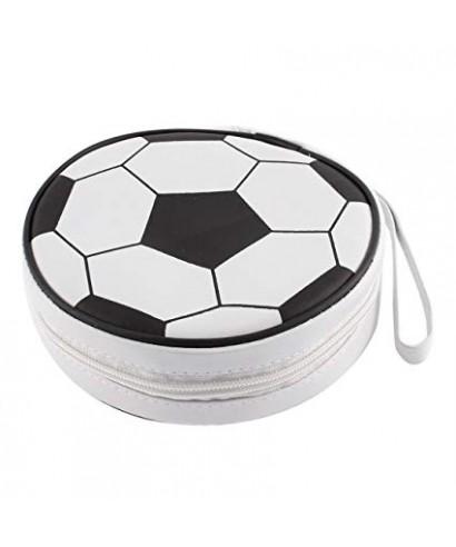 Porta CD case FUTBOL de 10 bolsillos
