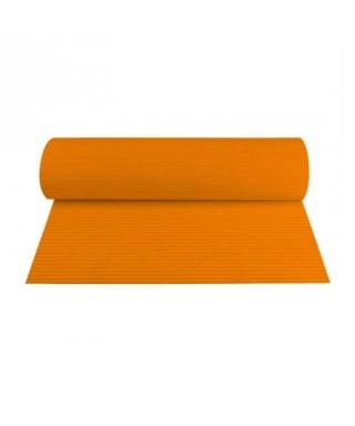 Cartulina corrugada color naranja (1 pliego)