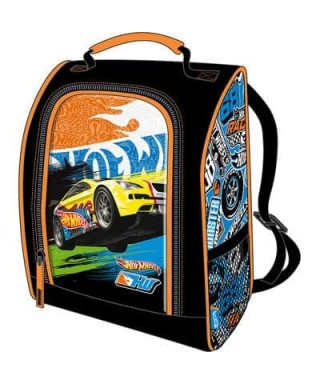 LONCHERA/MORRAL HOT WHEELS 12X25X14CM CAPI