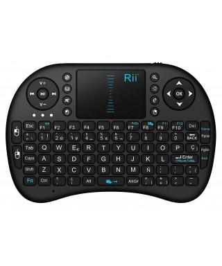 MINI Teclado Bluetooth Rii I8 Smarttv Box Android Tablet