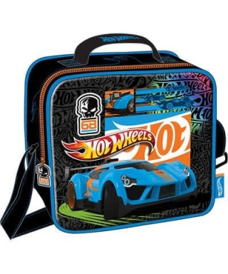 LONCHERA/MORRAL HOT WHEELS 12X25X14CM
