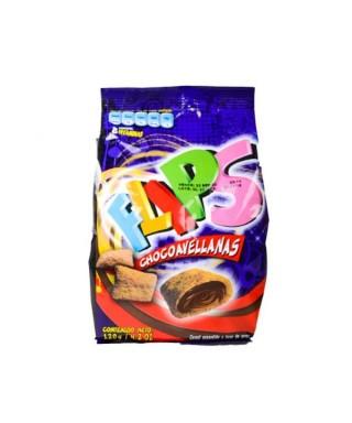 FLIPS CHOCOAVELLANAS 120 GR