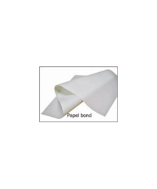 Papel Bond base 20, x pliego