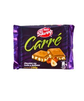 CHOCOLATE CARRE CON LECHE...