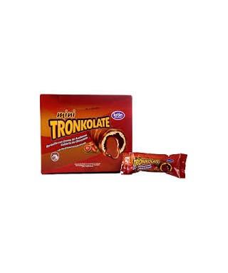 CHOCOLATE RELLENO CON CREMA DE AVELLANA TRONKOLATE - 30 GR