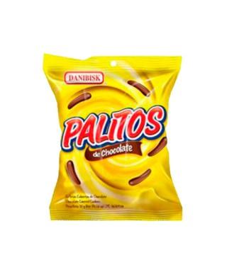 GALLETAS CUBIERTAS DE CHOCOLATE PALITOS 30GR
