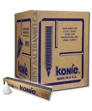 Bulto de Vasos Conicos Marca Konie - 15 Paquetes de 150 und