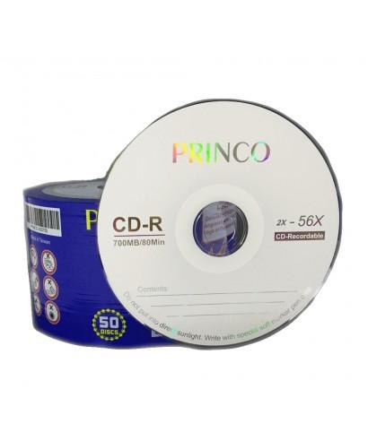 CD Virgen. Princo, 52 x 700MB, 80 min (25 unidades)