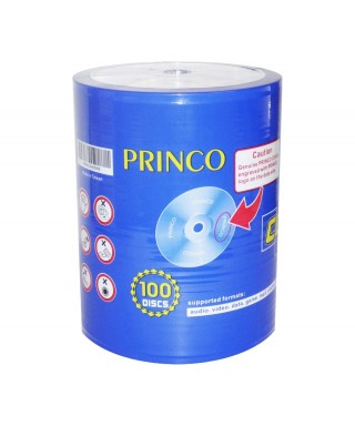 CD Virgen. Princo, 52 x 700MB, 80 min (100 unidades)