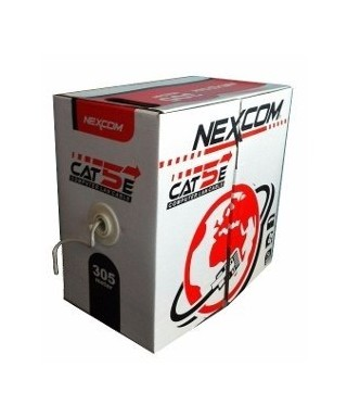 CABLE UTP OUT-DOOR CAT5 10...