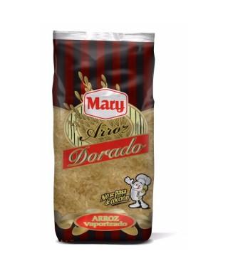 Arroz dorado vaporizado parboiled MARY 1 kilo