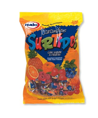 "CARAMELOS ""FRUITS CANDIES""..."