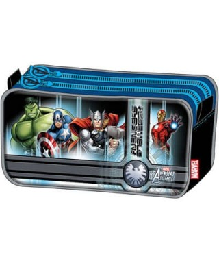 ESTUCHE CARTUCHERA RECTANGULAR DUO AVENGERS