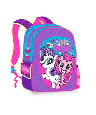 BOLSO MOCHILA MORRAL MEDIANO MY LITTLE PONY - CAPI