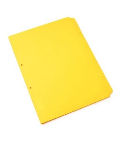 Carpeta Manila Color Amarillo 1 Pieza