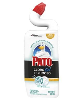 PATO CLORO GEL ESPUMOSO...