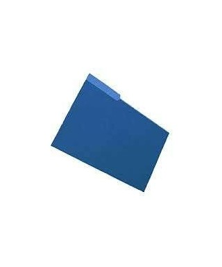 Carpeta Manila Color Azul Marino 1 Pieza