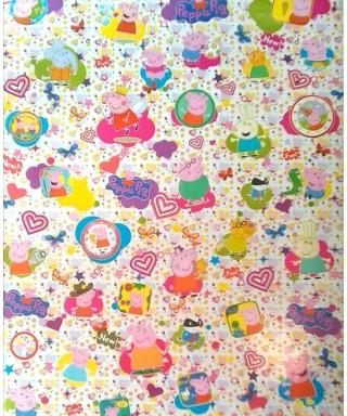 Papel Contact (58 x 66) Modelos para niños: (Peppa Pig)