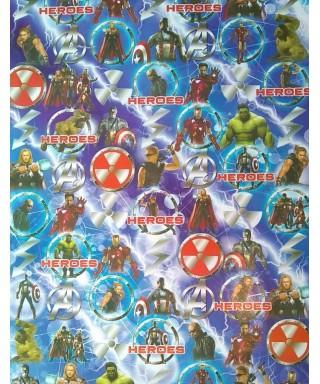Papel Contact (58 x 66) Modelos para niños: (Avengers)