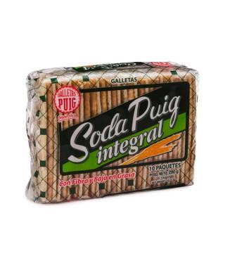 GALLETA DE SODA PUIG INTEGRAL PQ X10