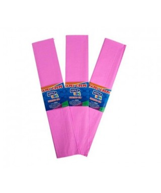 PAPEL CREPE EVA FOAM DE COLOR ROSADO
