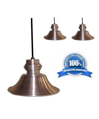 Lámpara moderna colgante CONCAVA aluminio