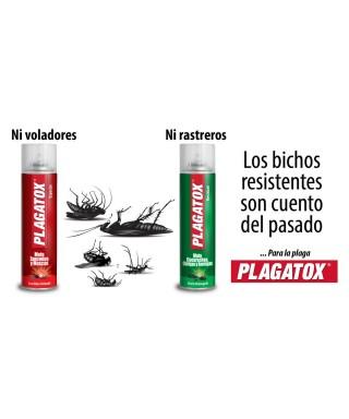 Insecticida Liquido Plagatox 1000cc RASTREROS. 1 Pieza