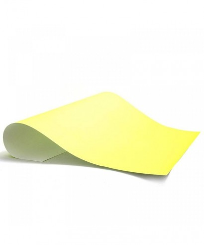 Cartulina escolar de color Amarillo 66x48 cm 150gr