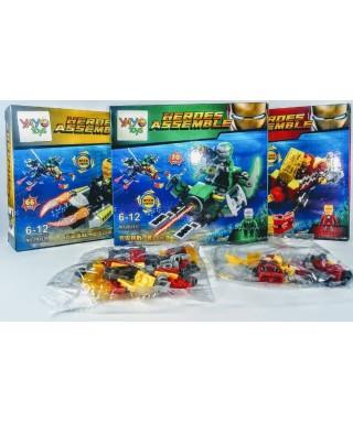 LEGO JUEGO ARMABLE SUPER HEROE 80 PZS