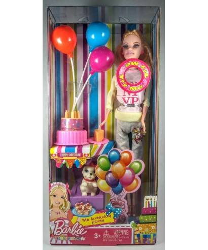 BARBIE HAPPY BIRTHDAY FELIZ CUMPLEAÑOS