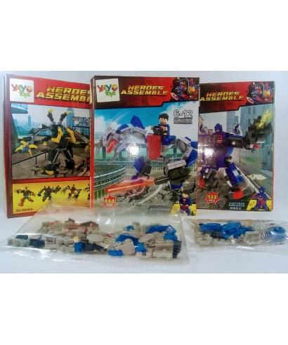 LEGO JUEGO ARMABLE SUPER HEROE 131 PZS