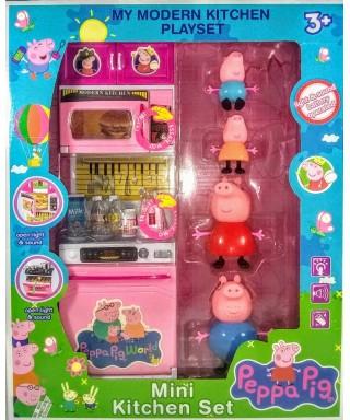 SET DE COCINA PEPPA PIG