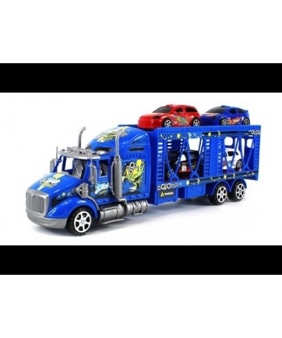 TRANSPORTADOR + SET 4 CARROS