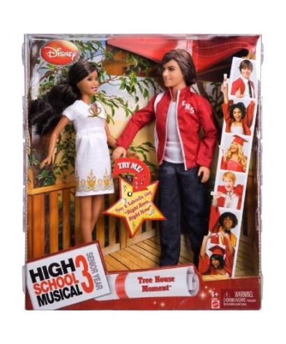 MUÑECOS HIGH SCHOOL MUSICAL 3 (GABRIELA Y TROY)