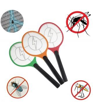 Raqueta Mata Zancudos Y Moscas Mosquito Electrica De Pilas
