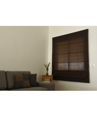 PERSIANA ROMANA OPTIMAL MARRON 170 x 120 CM