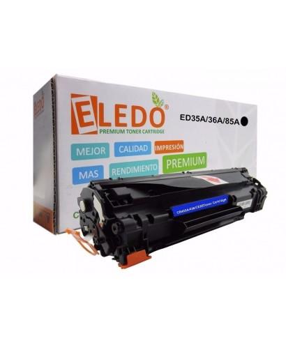 Toner Eledo Compatible HP CB436A (36A)