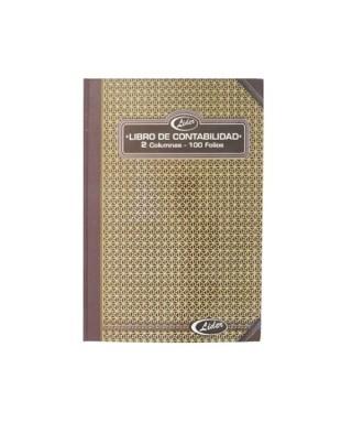 Libro contable 2 columnas / 100 Folios MAYIPAR