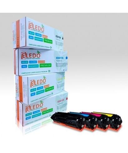 Toner Eledo Compatible HP CE412A (305A)