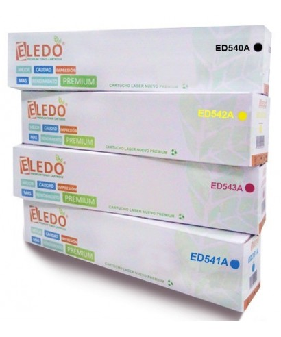 Toner Eledo Compatible HP/CANON CB540A (125A) (116)