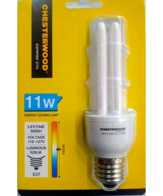BOMBILLO CHESTERWOOD 11W 2 U 8000 HRS 110-127V
