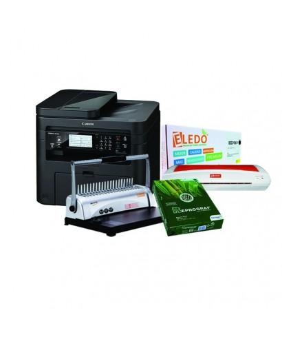Combo Fotocopiadora 236 Encuadernadora Plastificadora Toner