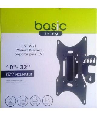 "BASE SOPORTE PARA TV FIJA DE 10"" A 32"" BASIC LIVING"